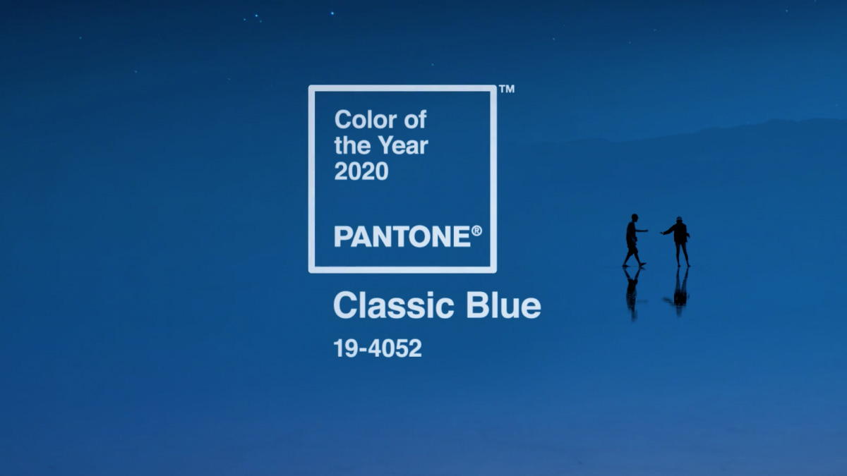 Pantone Bleu classique