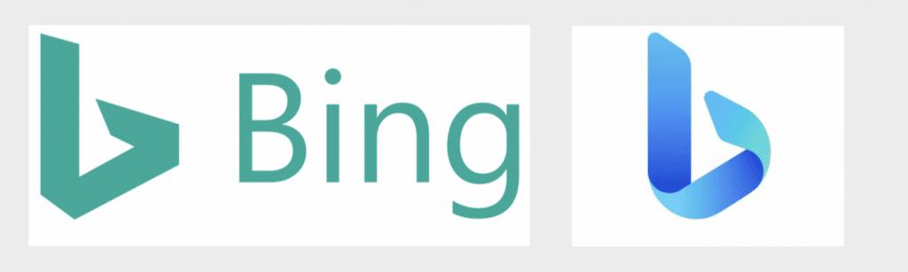Refonte du logo Bing
