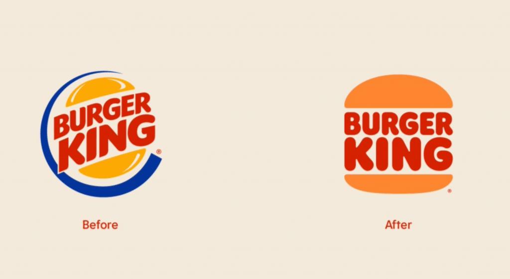 Burger King change de logo